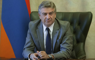 Message by Acting Prime Minister Karen Karapetyan on Armenian Genocide Victims Remembrance Day