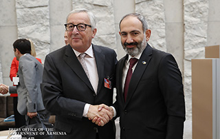 Nikol Pashinyan, Jean-Claude Juncker discuss EU-Armenia relations and development prospects