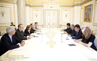 PM receives Special Representative of the OSCE Chairperson-in-Office on Combating Corruption