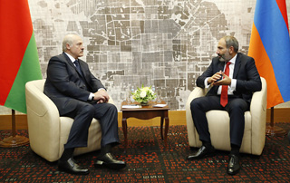 PM Pashinyan holds phone conversation with Belarus President Alexander Lukashenko