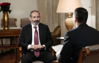 Nikol Pashinyan's Interview to Russia Today International TV Channel