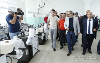 Nikol Pashinyan familiarized with programs aimed at creating new jobs in light industry and animal husbandry in Tavush Marz of Armenia