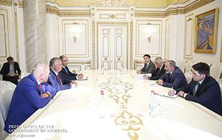 Վարչապետ Փաշինյանն ընդունել է ԵԶԲ վարչության նախագահ Անդրեյ Բելյանինովին