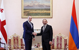 Armenian and Georgian Prime Ministers hold high-level talks in Yerevan