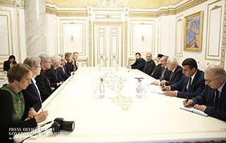Премьер-министр принял делегацию Совета протестантских церквей Германии