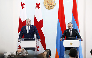 Armenian, Georgian Prime Ministers make statements on talks' outcome