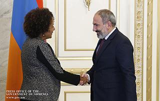 Никол Пашинян и Микаел Жан обсудили вопросы проведения 17-го саммита Франкофонии