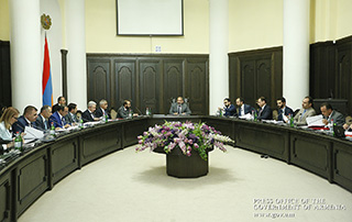 A prearranged extraordinary Cabinet sitting was held, chaired by Prime Minister Nikol Pashinyan