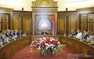 Le Premier ministre a reçu les chefs de missions diplomatiques accrédités en Géorgie