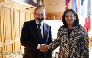 """""""Erevan a une place particulière dans le cœur des Parisiens"""":  Nikol Pashinyan a rencontré la maire de Paris Anne Hidalgo"""