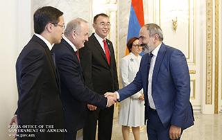 Le Premier ministre a reçu les présidents des banques centrales des pays membres  de l'Union économique eurasienne