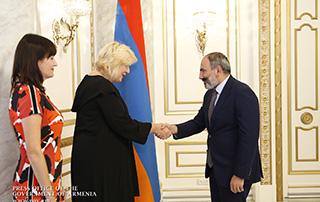 Le Premier ministre a reçu la Commissaire aux droits de l'homme du Conseil de l'Europe