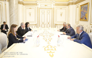 PM receives Head of IMF Armenia Mission