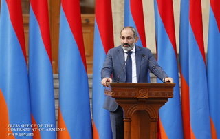 Message du Premier ministre Nikol Pashinyan à l'occasion de la Fête de l'Indépendance