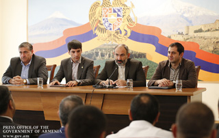 """My assignment to you is very simple: try to solve at least a small, but some specific problem every day"" - PM meets with community leaders in Ararat Marz"