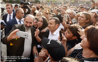 """Today we must accomplish economic, agricultural, educational revolutions, and each of you should be the leader"" - Nikol Pashinyan meets with Ararat Marz residents"
