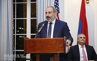 """Armenia needs development programs rather than charity projects"" - Nikol Pashinyan meets with Armenian community representatives in New York"