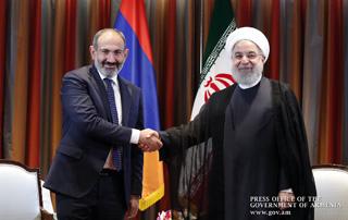 В Нью-Йорке состоялась встреча Никола Пашиняна и Хасана Рухани