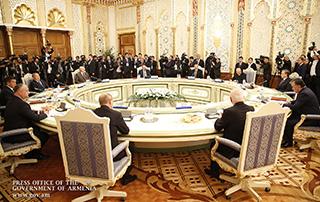 Рабочий визит премьер-министра Никола Пашиняна в Душанбе