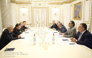 PM receives Rosatom CEO