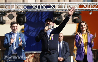 RA Prime Minister Nikol Pashinyan's speech at Echmiadzin 2703rd anniversary-dedicated event