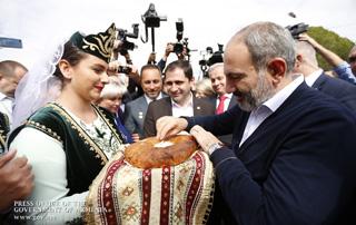 Визит премьер-министра Никола Пашиняна в общину Агарак Арагацотнской области