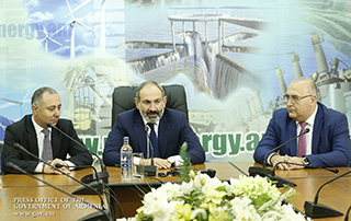 Nikol Pashinyan introduces newly appointed Minister of Energy Infrastructures and Natural Resources