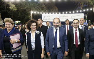 PM Nikol Pashinyan awarded 2018 Best Student Diploma by Armenian Alliance Française