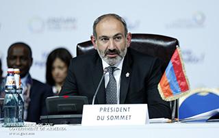 Мадагаскар передал Армении председательство на саммите Международной организации Франкофонии
