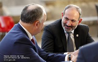 Премьер-министр Армении в рамках саммита МОФ встретился с президентом Молдовы, премьер-министром Бельгии и генеральным директором ЮНЕСКО
