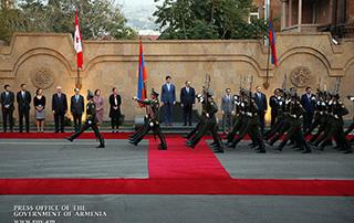 Nikol Pashinyan, Justin Trudeau discuss furtherance of Armenian-Canadian relations