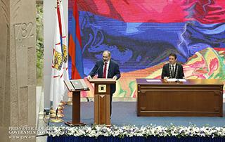 Мы мечтали, и настало время осуществления этой мечты: премьер-министр присутствовал на церемонии инаугурации новоизбранного мэра Еревана
