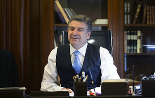 Acting Prime Minister Karen Karapetyan's Congratulatory Message on World Press Freedom Day