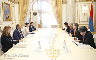 Никол Пашинян принял Чрезвычайного и Полномочного посла Республики Корея в Армении
