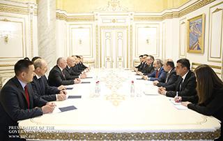 Исполняющий обязанности премьер-министра принял членов Совета руководителей пенитенциарных служб государств СНГ
