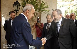 И.о. премьер-министра Армении и спикер парламента Ливана высоко оценили двусторонний политический диалог