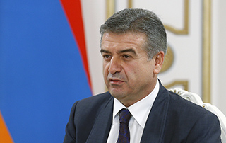 Karen Karapetyan Applies to RA President with Request of Terminating His Duties of Acting First Deputy Prime Minister of the Republic of Armenia