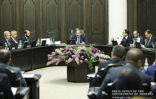 Состоялось очередное заседание правительства Республики Армения