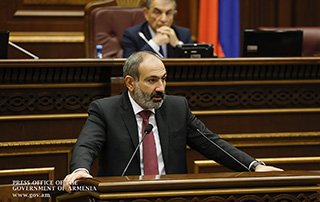 Address by Acting Prime Minister Nikol Pashinyan to National Assembly