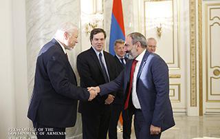 Никол Пашинян принял сопредседателей Минской группы ОБСЕ
