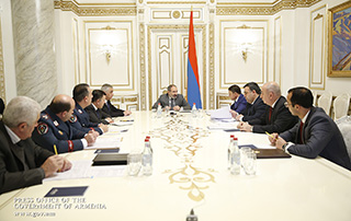 """Nikol Pashinyan: """"I am convinced that through joint work we will shape completely new police-citizen relations"""""""