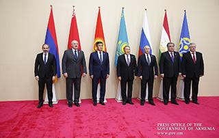 Никол Пашинян в Астане принял участие в заседании Совета коллективной безопасности ОДКБ