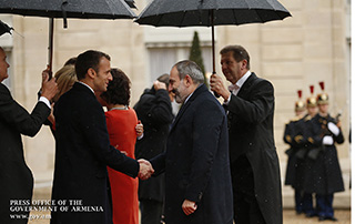 Nikol Pashinyan attends ceremony commemorating World War I Ceasefire Centenary in Paris