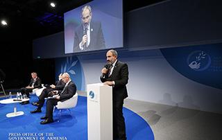 Мы не можем изменить историю, но история может изменить нас, чтобы наше будущее было более хорошим: Никол Пашинян выступил с речью на Парижском форуме мира