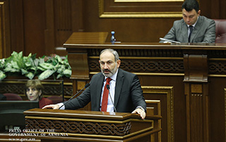 Statement by Acting Prime Minister Nikol Pashinyan in National Assembly