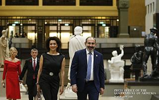 La visite de travail du Premier ministre par intérim Nicole Pashinyan au Paris