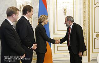 Nikol Pashinyan a reçu la Présidente du Conseil Régional d'Île-de-France, la Présidente du conseil régional d'Île-de-France, la Présidente du Conseil Régional d'Île-de-France, Valérie Pécresse