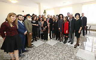 Nikol Pashinyan inspects school and stadium repairs in Martuni and Sevan; attends opening of Drama Theater in Gavar