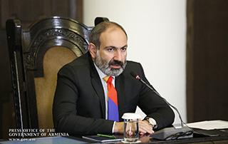 Conférence de presse du Premier ministre par intérim, Nikol Pashinyan