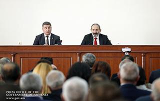 Визит исполняющего обязанности премьер-министра Никола Пашиняна в Гегаркуникскую область